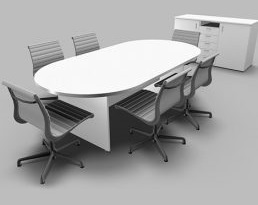 Meeting Table – White
