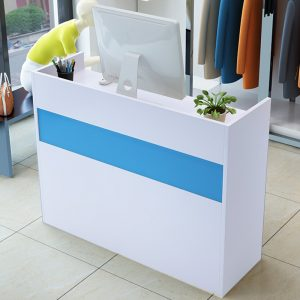 RT1003 – Reception Desk frosty white