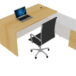 EXT2007_Modern Executive Table – L Shaped