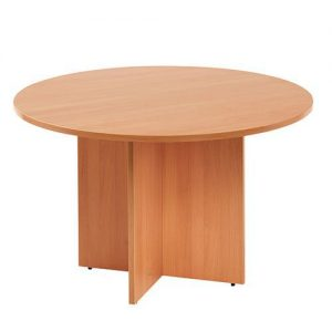 Round Discussion Table Beech – CT4006